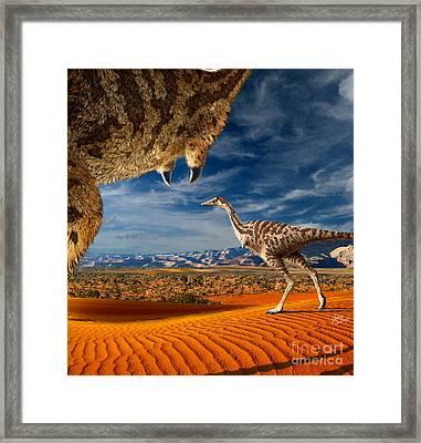 Linhenykus Framed Print by Julius Csotonyi