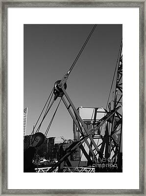Framed Print featuring the photograph Lining by Maja Sokolowska