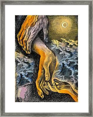Link Framed Print by Leon Zernitsky
