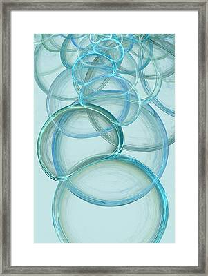 Linked Framed Print by Anastasiya Malakhova