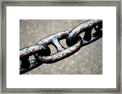 Linked Framed Print