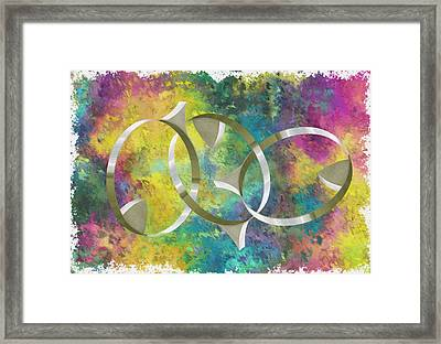 Linked Framed Print by Jack Zulli
