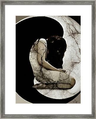 Linked Souls Framed Print by Sunshine Casey