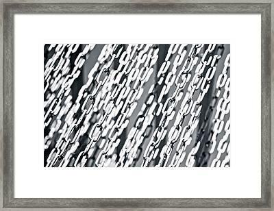 Links 2 Framed Print by Alexander Senin