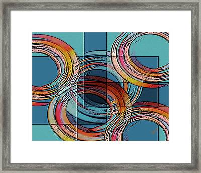 Links Framed Print by Ben and Raisa Gertsberg