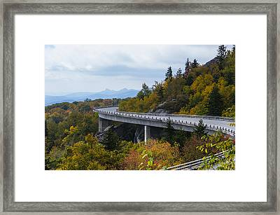 Framed Print featuring the photograph Linn Cove Viaduct by Gregg Southard