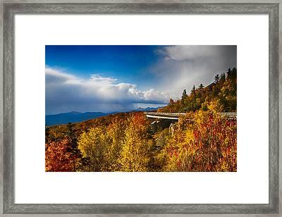 Linn Cove Viaduct Photograph Framed Print