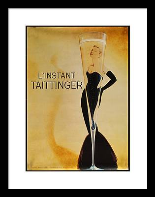 Champers Framed Prints