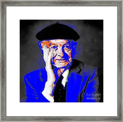 Linus Pauling Framed Print by Gerhardt Isringhaus