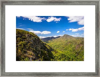 Linville Gorge Hike Framed Print