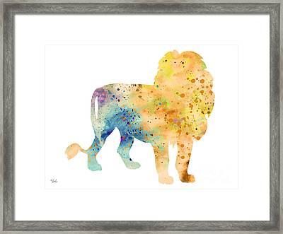Lion 3 Framed Print