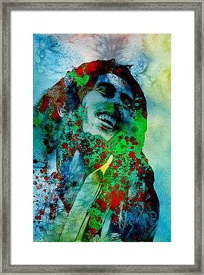 Lion From Jamaica 2 Framed Print