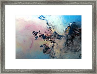 Lion Race Framed Print by Petros Yiannakas