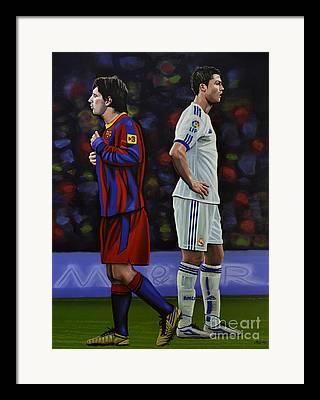 Soccer Framed Prints