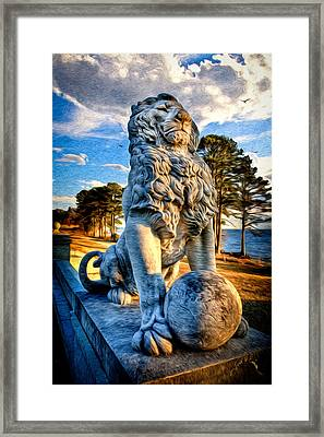 Lion's Bridge Framed Print