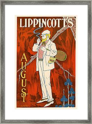 Lippincott's August Framed Print by Gianfranco Weiss