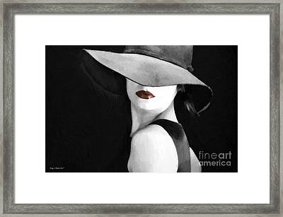 Lipstick Framed Print by Jerry L Barrett