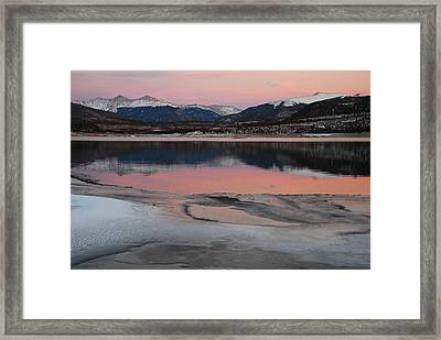 Lipstick Sunset Framed Print by Bob Berwyn