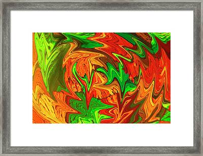 Liquefied Quinidine Framed Print by Clouds Hill Imaging Ltd