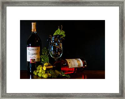 liquid and Solid Framed Print by Stephen Smith