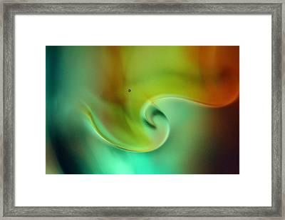 Liquid Art Framed Print