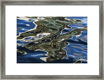 Liquid Gold Framed Print by Andrew Paranavitana