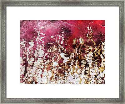 Liquid Gold Framed Print by Shawna Rowe