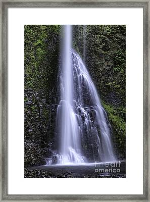 Liquid Grace Framed Print