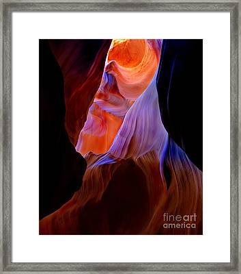 Liquid Light Framed Print