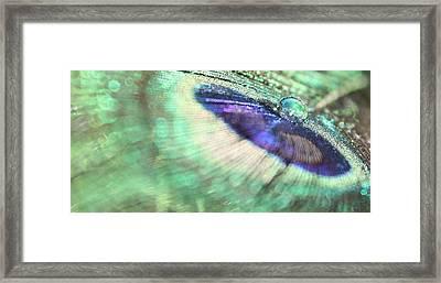 Liquid Marble Framed Print