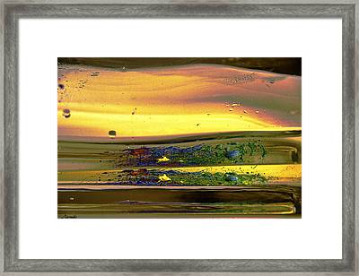 Liquid Motion 1 Framed Print by Renee Anderson