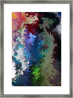 Liquid  One Framed Print by Joel Loftus