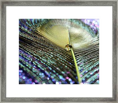Liquid Reflection Framed Print