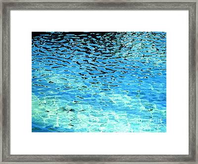 Liquid Tango Framed Print by Carina Mascarelli