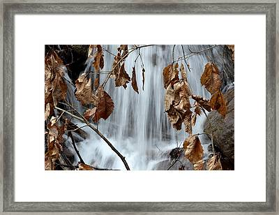 Liquid Window Framed Print