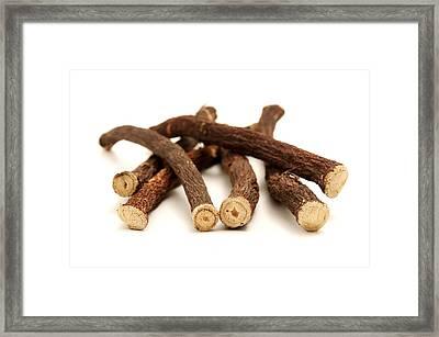 Liquorice Roots Framed Print by Fabrizio Troiani