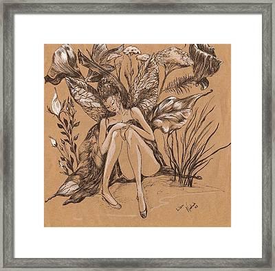 Lisanthius Framed Print