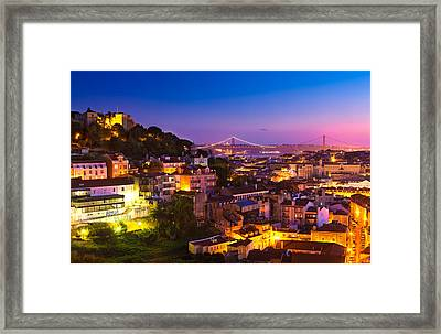 Lisbon 02 Framed Print by Tom Uhlenberg