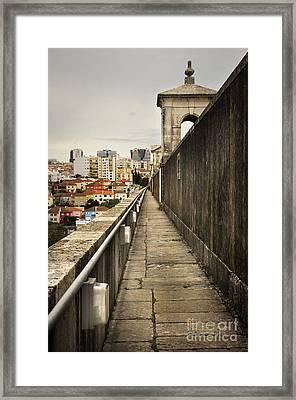 Lisbon Aqueduct Framed Print