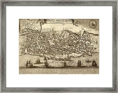 Lisbon As New Amsterdam Framed Print