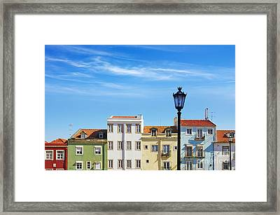 Lisbon Houses Framed Print