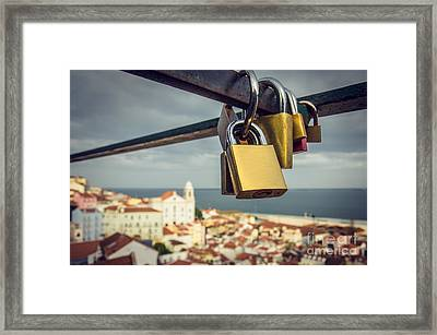 Lisbon Is For Lovers Framed Print by Carlos Caetano