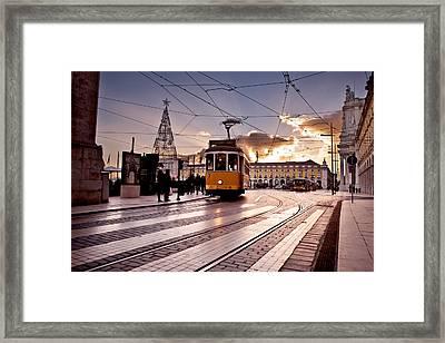 Lisbon Light Framed Print by Jorge Maia