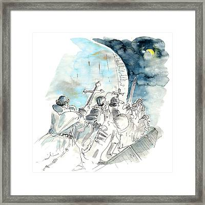 Lisbon Monument Of Discoveries Framed Print
