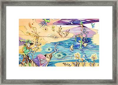L'isola Che C'e - Poveglia Per Tutti Framed Print