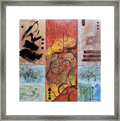 Listen To  The Music Framed Print by Florentina Maria Popescu