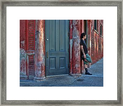 Listen To The Music Framed Print by Nikolyn McDonald