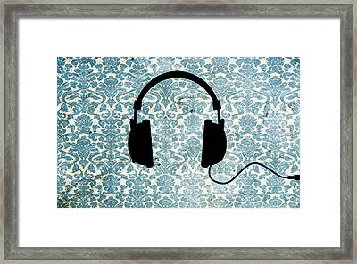Listen Up Framed Print by Candace Fowler