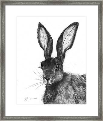Listening Ears Framed Print by J Ferwerda