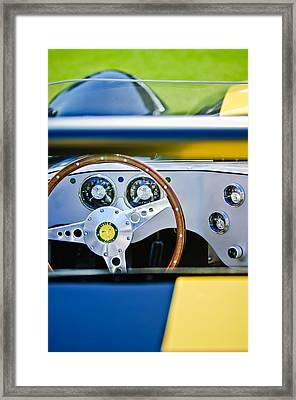 Lister Steering Wheel Framed Print